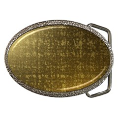 Gold Belt Buckle (Oval)