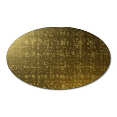 Gold Magnet (oval)