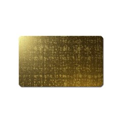 Gold Magnet (Name Card)