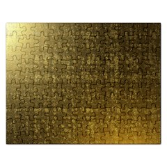 Gold Jigsaw Puzzle (Rectangle)