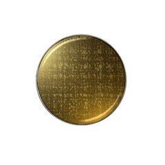 Gold Golf Ball Marker 10 Pack (for Hat Clip)