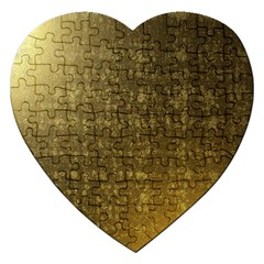 Gold Jigsaw Puzzle (heart)