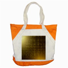 Gold Accent Tote Bag