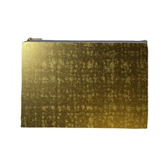 Gold Cosmetic Bag (large)