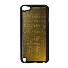 Gold Apple iPod Touch 5 Case (Black)