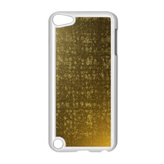 Gold Apple iPod Touch 5 Case (White)