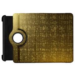 Gold Kindle Fire HD 7  (1st Gen) Flip 360 Case