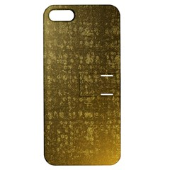 Gold Apple Iphone 5 Hardshell Case With Stand