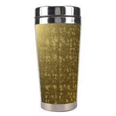 Gold Stainless Steel Travel Tumbler