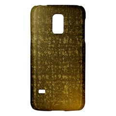 Gold Samsung Galaxy S5 Mini Hardshell Case