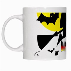 Happy Halloween Collage White Coffee Mug