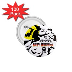 Happy Halloween Collage 1 75  Button (100 Pack)