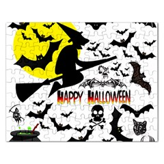 Happy Halloween Collage Jigsaw Puzzle (Rectangle)