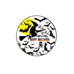 Happy Halloween Collage Golf Ball Marker (for Hat Clip)