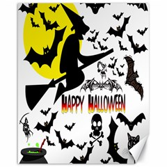 Happy Halloween Collage Canvas 16  x 20  (Unframed)