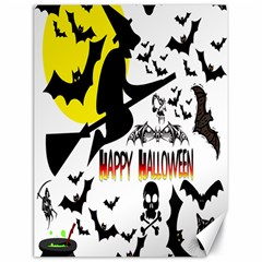 Happy Halloween Collage Canvas 18  x 24  (Unframed)