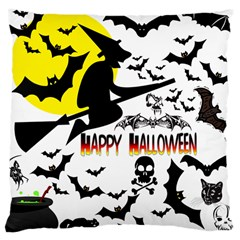 Happy Halloween Collage Large Cushion Case (single Sided)