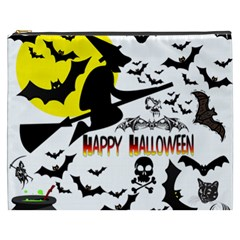 Happy Halloween Collage Cosmetic Bag (xxxl)