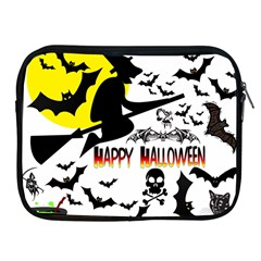 Happy Halloween Collage Apple Ipad Zippered Sleeve