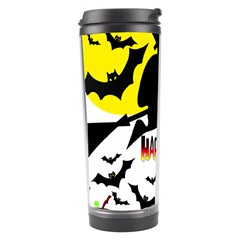 Happy Halloween Collage Travel Tumbler