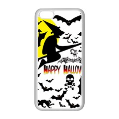 Happy Halloween Collage Apple Iphone 5c Seamless Case (white)