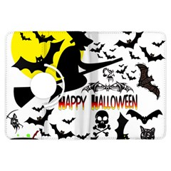 Happy Halloween Collage Kindle Fire HDX 7  Flip 360 Case