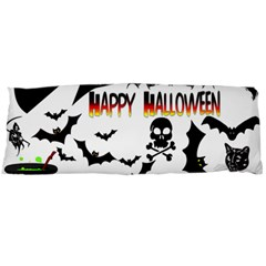Happy Halloween Collage Body Pillow (Dakimakura) Case (Two Sides)