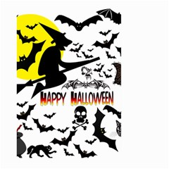 Happy Halloween Collage Large Garden Flag (two Sides)