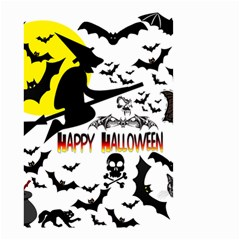 Happy Halloween Collage Small Garden Flag (Two Sides)