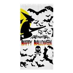 Happy Halloween Collage Shower Curtain 36  X 72  (stall)