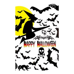 Happy Halloween Collage Shower Curtain 48  X 72  (small)