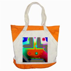 Crossroads Of Awakening, Abstract Rainbow Doorway  Accent Tote Bag