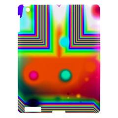 Crossroads Of Awakening, Abstract Rainbow Doorway  Apple Ipad 3/4 Hardshell Case