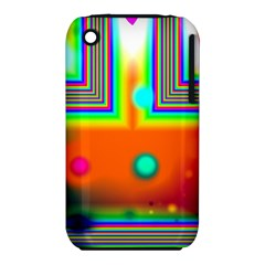 Crossroads Of Awakening, Abstract Rainbow Doorway  Apple Iphone 3g/3gs Hardshell Case (pc+silicone)