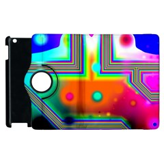 Crossroads Of Awakening, Abstract Rainbow Doorway  Apple iPad 3/4 Flip 360 Case