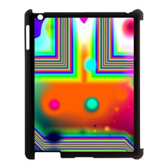 Crossroads Of Awakening, Abstract Rainbow Doorway  Apple Ipad 3/4 Case (black)