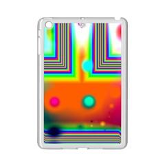 Crossroads Of Awakening, Abstract Rainbow Doorway  Apple iPad Mini 2 Case (White)