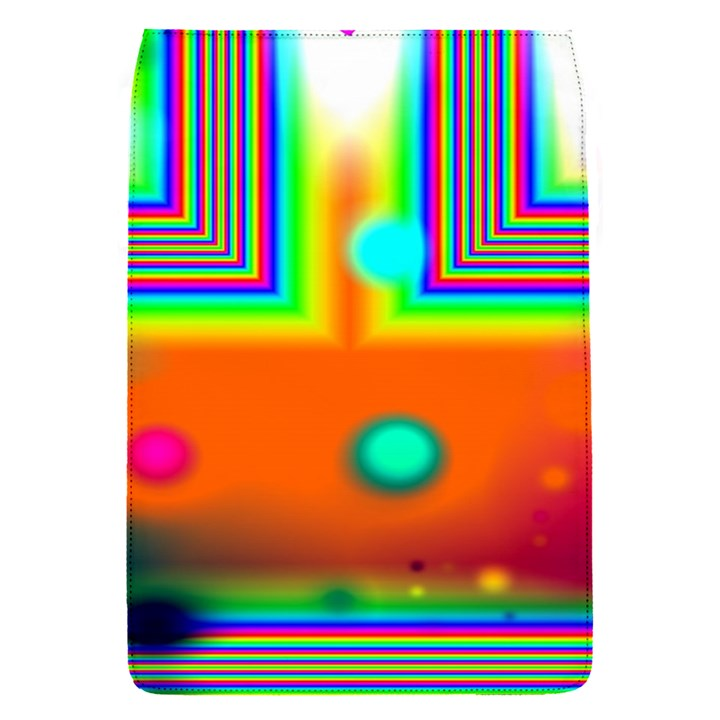Crossroads Of Awakening, Abstract Rainbow Doorway  Removable Flap Cover (Small)