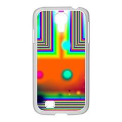 Crossroads Of Awakening, Abstract Rainbow Doorway  Samsung GALAXY S4 I9500/ I9505 Case (White)