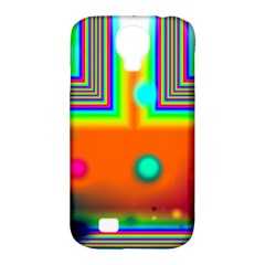 Crossroads Of Awakening, Abstract Rainbow Doorway  Samsung Galaxy S4 Classic Hardshell Case (pc+silicone)