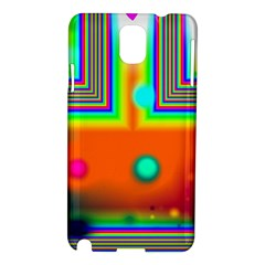 Crossroads Of Awakening, Abstract Rainbow Doorway  Samsung Galaxy Note 3 N9005 Hardshell Case