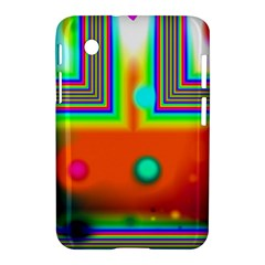 Crossroads Of Awakening, Abstract Rainbow Doorway  Samsung Galaxy Tab 2 (7 ) P3100 Hardshell Case
