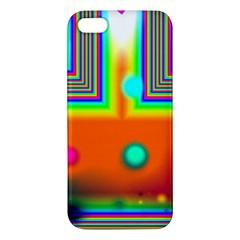 Crossroads Of Awakening, Abstract Rainbow Doorway  Iphone 5s Premium Hardshell Case