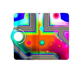 Crossroads Of Awakening, Abstract Rainbow Doorway  Kindle Fire HDX 8.9  Flip 360 Case
