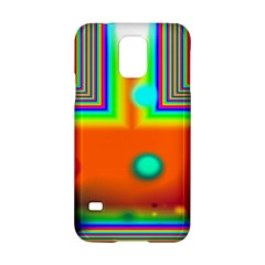 Crossroads Of Awakening, Abstract Rainbow Doorway  Samsung Galaxy S5 Hardshell Case