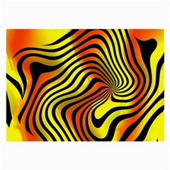 Colored Zebra Glasses Cloth (Large, Two Sided)