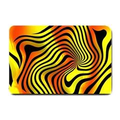 Colored Zebra Small Door Mat