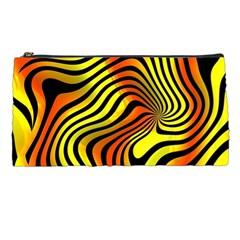 Colored Zebra Pencil Case