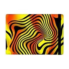 Colored Zebra Apple Ipad Mini Flip Case