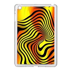 Colored Zebra Apple Ipad Mini Case (white)